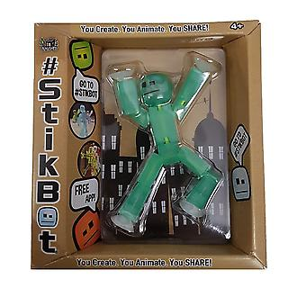 Stikbot Figure Light Green Translucent Colour