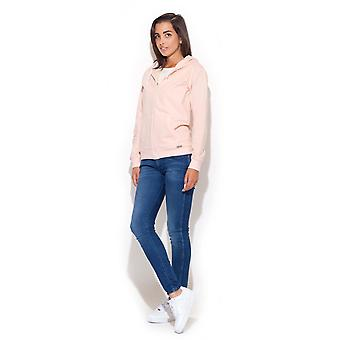 Pink katrus jackets & coats
