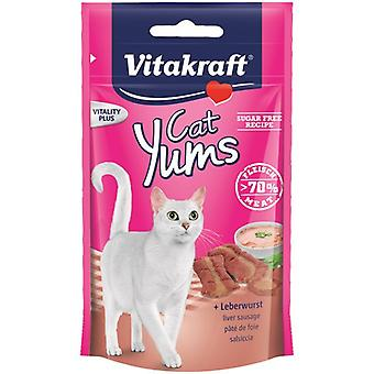 Vitakraft Cat Yums + Sausage (Cats , Treats , Biscuits)