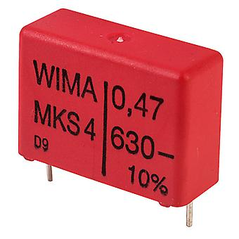 Wima MKS4J034705G00KS 470nF ±10% 630V 22.5mm Pitch Polyester Capacitor