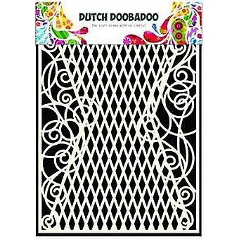 Dutch Doobadoo Dutch Mask Art stencil diamond - curl A5 470.715.103