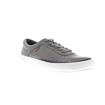 Camper Peu Rambla Rail  Mens Gray Mesh Lace Up Low Top Sneakers Shoes
