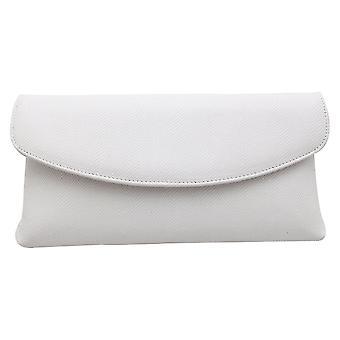 Peter Kaiser Winema White Lizard Effect Clutch Handbag
