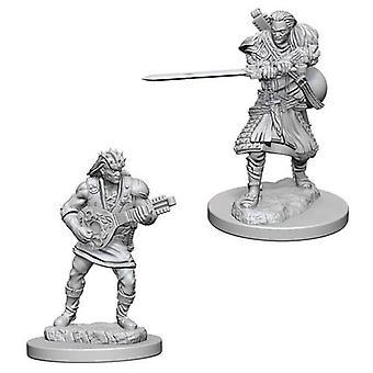 D&D Nolzur's Marvelous Unpainted Miniatures Human Male Bard (Pack of 6)