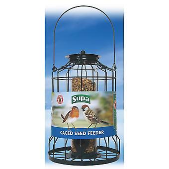 Supa Caged Bird Seed Feeder