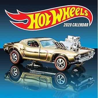 Hot Wheels 2020 Wall Calendar by Mattel