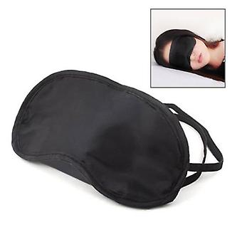 Masca de dormit / Soft Satin Eye Mask (Negru)