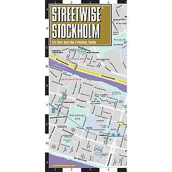 Streetwise Map Stockholm Laminated City Center Street Map of Stockhol