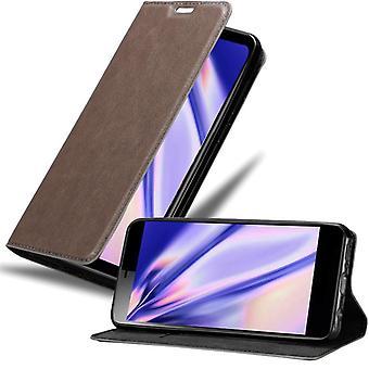 Cadorabo Case para Capa de caso Sony Xperia L3 - Caixa de telefone com fecho magnético, função de suporte e compartimento do cartão – Capa de Capa de Capa De Capa De Capa De Capa De Caixa Desobspartilamento