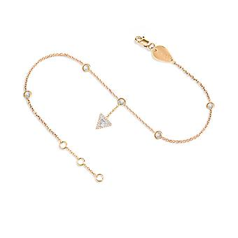 Anklet Cheops hanging 18K Gold and Diamonds - Rose Gold