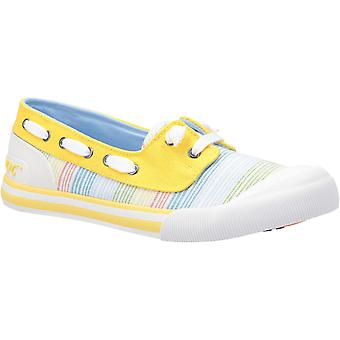 Rocket Dog Womens Jazzin Jetty Ravi Slip On Shoe Yellow Multi