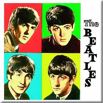 The Beatles Fridge Magnet band logo love me do new Official 76mm x 76mm