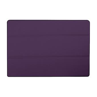 Slim Compact PU Magnetic Leather Case for Lenovo Tab 10 A3-A30[Purple]