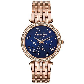 Michael Kors MK3728 Darci Rose Gold Stainless Steel Quartz Ladies Watch