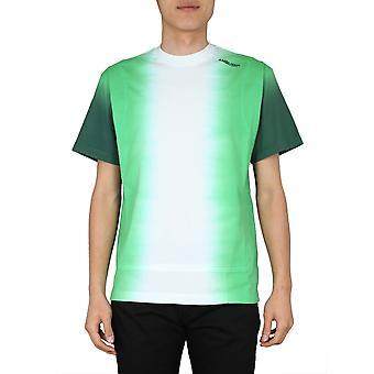 Imboscata 12112072mugr Uomo's T-shirt di cotone verde