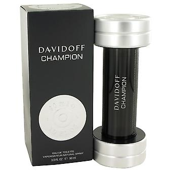 Davidoff Champion Eau De Toilette Spray av Davidoff 3 oz Eau De Toilette Spray