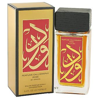 Calligraphy Rose Eau De Parfum Spray By Aramis 3.4 oz Eau De Parfum Spray