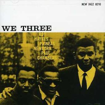 Haynes/Newborn/Chambers - We Three [CD] USA import