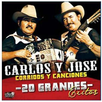 Carlos Y Jose - 20 Grandes Exitos [CD] USA importar