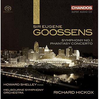 E. Goossens - Eugene Goossens: Symphony No. 1; Phantasy Concerto [SACD] USA import