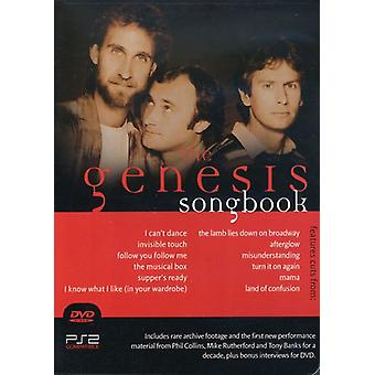 Génesis - importación de Estados Unidos Genesis Songbook [DVD]