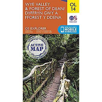 Wye Valley & Forest of Deane door - 9780319475737 Boek