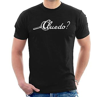 Hasbro Cluedo Classic Logo Miesten's T-paita