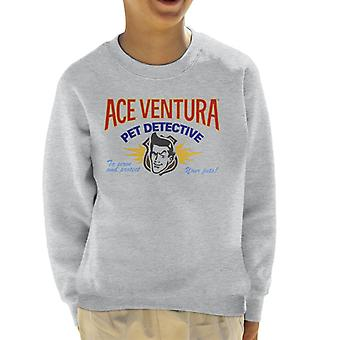 Ace Ventura Pet Detective Logo Kid's Sweatshirt