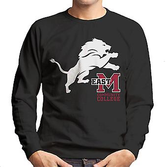 East Mississippi Community College Lion And Logo Men's Sweatshirt