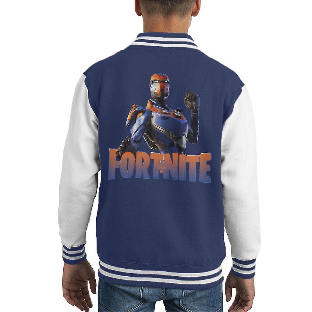 Fortnite vilkår Battle Royale barneklubb Varsity jakke