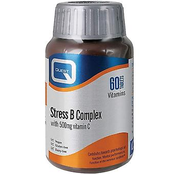 Quest Vitamins Stress B-Complex Tablets 60 (601197)
