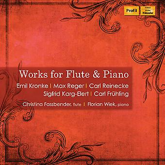 Works For Flute & Piano [CD] USA import