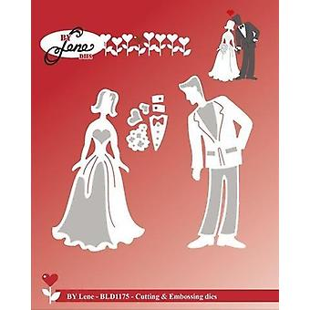 By Lene Wedding Couple Cutting & Embossing Dies