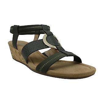 Alfani Womens Vennice Peep Toe Casual Ankle Strap Sandals