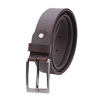 """Primehide Mens Leather Belt 1.1"""" (30mm) Traje de largura / Gents do cinto da calça"""
