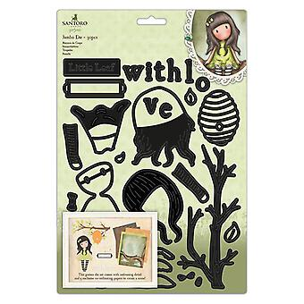 Gorjuss The Little Leaf Jumbo Die Set