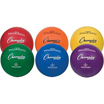 BA688P, Champion Sports Colored Rubber Soccer Balls - Taille 4 (Ensemble de 6)