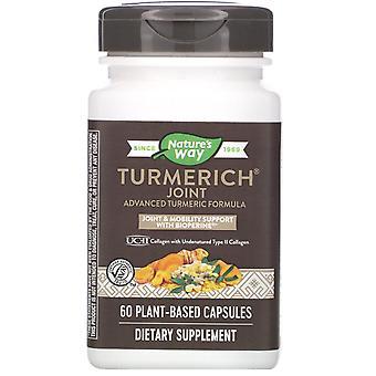 Nature's Way, Turmerich, Joint, 400 mg, 60 Växtbaserade kapslar