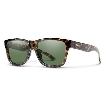 Sonnenbrille Unisex Lowdown Slim 2  braun gelb havanna/ grau