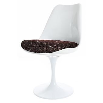 Eero Saarinen Tulpe Stil Set - weiß großen runden Tisch mit vier Stühlen - verschiedene Farben
