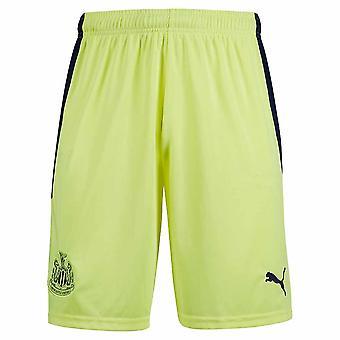2020-2021 Newcastle Away Shorts (Yellow)