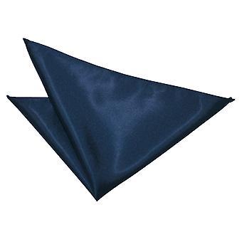 Marine bleu clair Satin mouchoir de poche