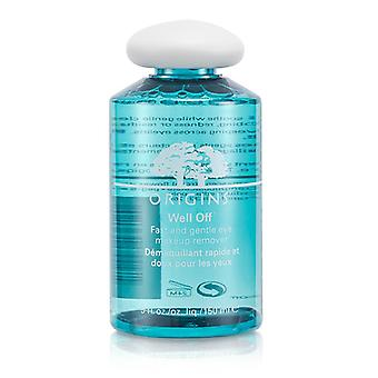 Well Off Fast & Zachte oogmake-up remover - 150ml/5oz
