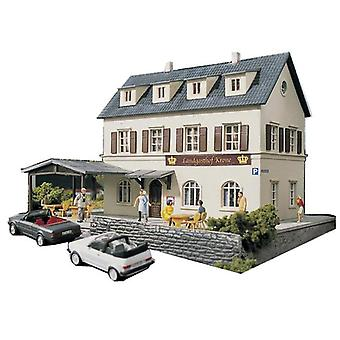 1:87 Town Hotel Architectural Model  Railway Sand Table Scene Matching  Abs