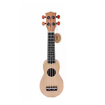 Ukulele Mini Travel Guitar Sealed Machine Head 4 String Guitar 17inch