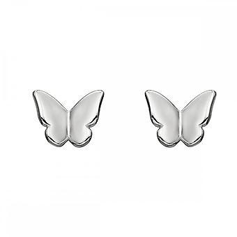 Elemente Silber 3D Schmetterling Ohrring E5732
