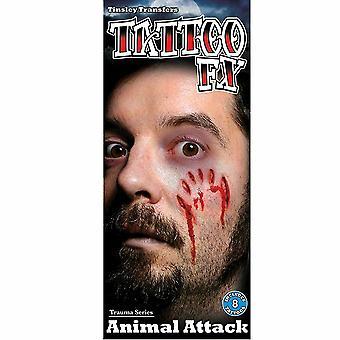 Tinsley Transfers Trauma Series (Animal Attack)