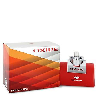 Swiss Arabian Oxide Eau De Parfum Spray por Swiss Arabian 3.4 oz Eau De Parfum Spray