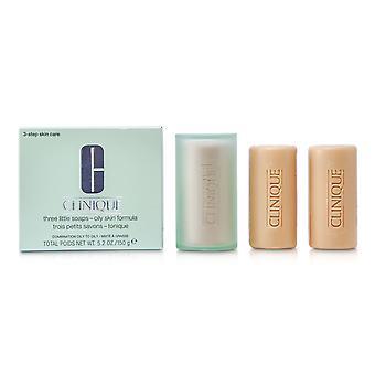 3 Little soap oily skin formula 13179 3x50g