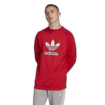 Adidas Originals Trefoil Crew FM3781 universal ganzjährig Herren Sweatshirts